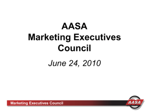 Marketing Executives Council - Automotive Aftermarket Suppliers