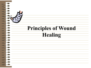 chronic non-healing wound