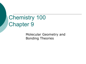 Bonding Theories - X-Colloid Chemistry Home Page