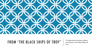 From *The Black Ships of Troy*