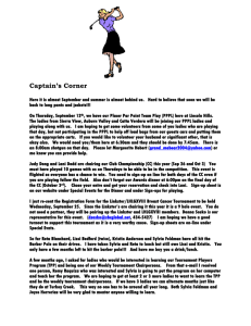 Captain's Corner - LINCOLN HILLS LADIES GOLF