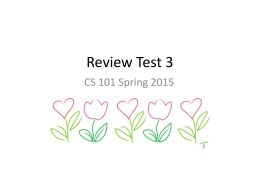 Review Test 3