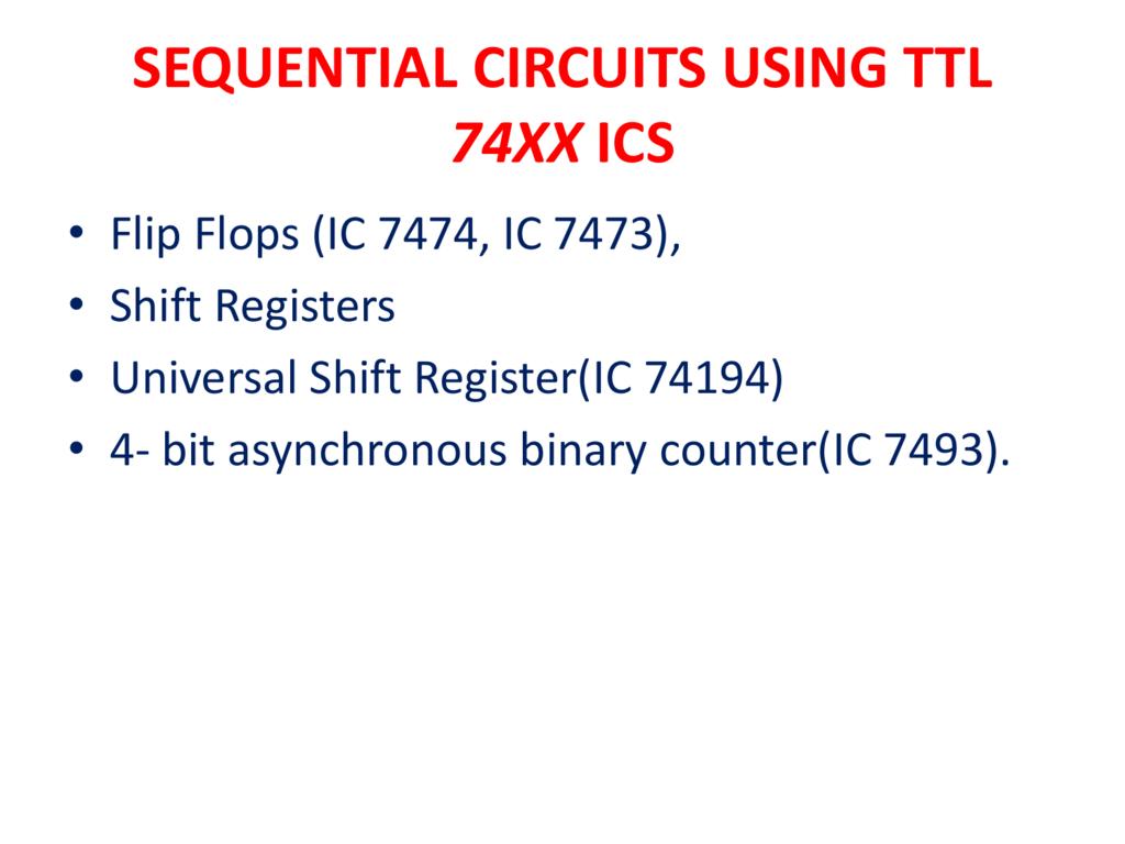 Parallel In Serial Out Shift Registers Youtube Logic Diagram For The D Flip Flop 7474 Register Using Jk