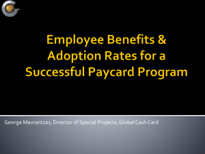 A CFO`s Guide to Paycards