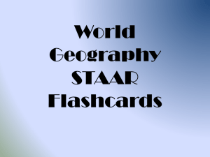 World Geography Flashcards PP