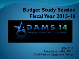 BOE Budget Study Session - 5-26