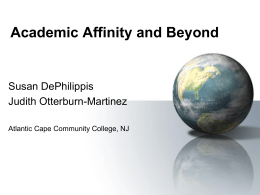 Academic Affinity and Beyond