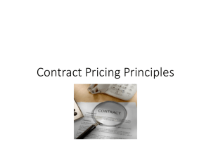 contract price