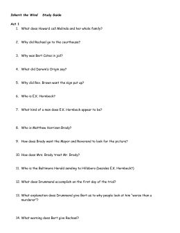The Tempest Questions and Answers
