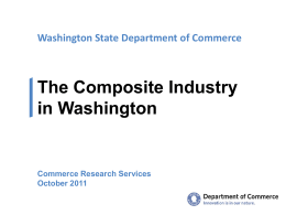 Composite Industry in Washington