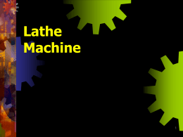 Lathe machine - ROYAL MECHANICAL
