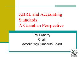 MS11-PaulCherry - archive of XBRL conferences
