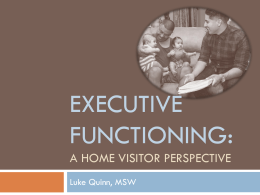 Session Slides: Executive Functioning: A Home Visitor Perspective