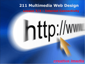 IM 211 Web L3 and 4 PPT