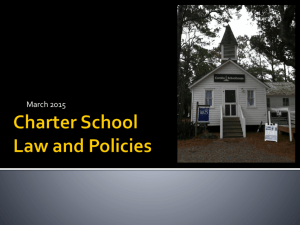 Legal Updates - March - the NC Office of Charter Schools Wiki!