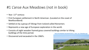 1 L*anse Aux Meadows - Faculty Access for the Web