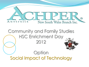Social Impact of Technology PowerPoint 2012