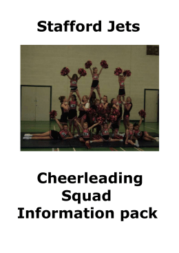The Classes - Stafford Jets Cheerleading Squad