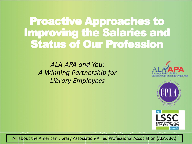 Title Of Presentation Ala Apa