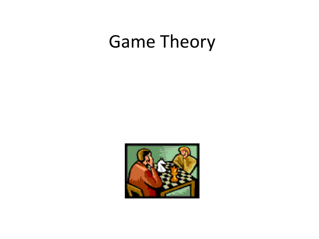 re talking game theory - HD1024×768