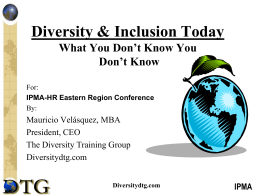 Diversity & Inclusion Today