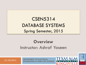 CSEN5314-Overview - ODU Computer Science
