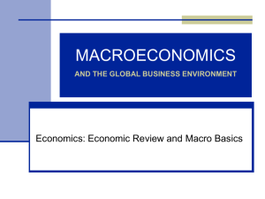 The Language of Macroeconomics