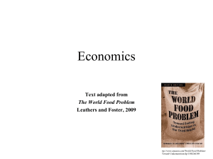 Economics: Supply and Demand