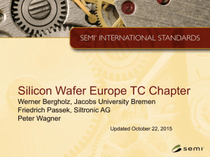 EU Silicon Wafer Liaison Updated 20151022 v1