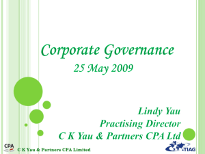 1 - CK Yau & Partners CPA Limited