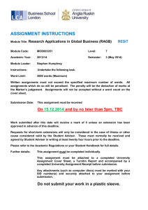 Research Applications in Global Business Resit May14