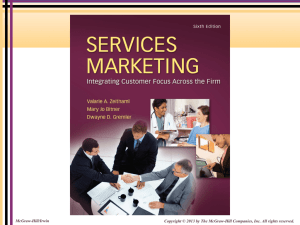 Integrated Service Marketing Communications