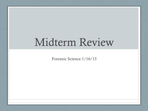 Midterm Review - Ms. Bloedorn's Class