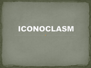 iconoclasm - The 5 Minute Classroom: Key Terms for