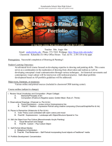 Drawing & Painting II Course Syllabus - KS Blogs