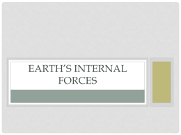 Earth's Internal Forces - geography-bbs