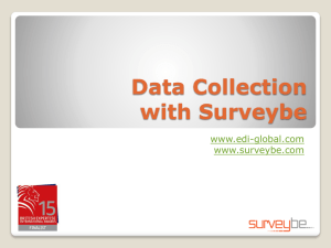 Example of Survey Software