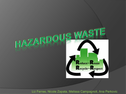 Should the export of hazardous waste be entirely banned?
