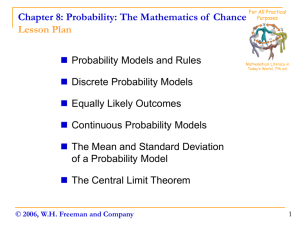 Probability: The Mathematics of Chance