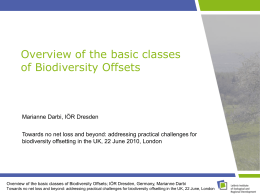 2010_Darbi_London_Biodiversity Offsets