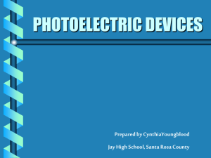photoelectric devices - Beacon Learning Center