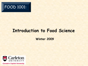 Introduction to Food Science - Read More