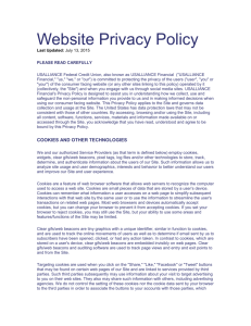 Website Privacy Policy - USAlliance Federal Credit Union