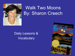 walk two moons essay the outsiders and walk two moons by s e hinton and sharon creech
