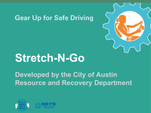 Stretch-N-Go Powerpoint