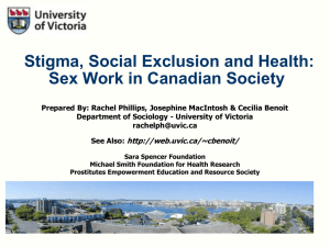 Stigma, Social Exclusion, and Health