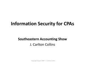 SEAS - Security - PPT
