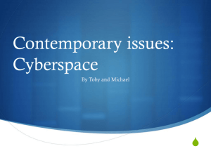 Cyberspace Law Reform