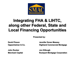 LIHTC and Affordable Presentation