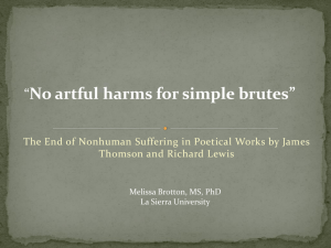 No artful harms for simple brutes